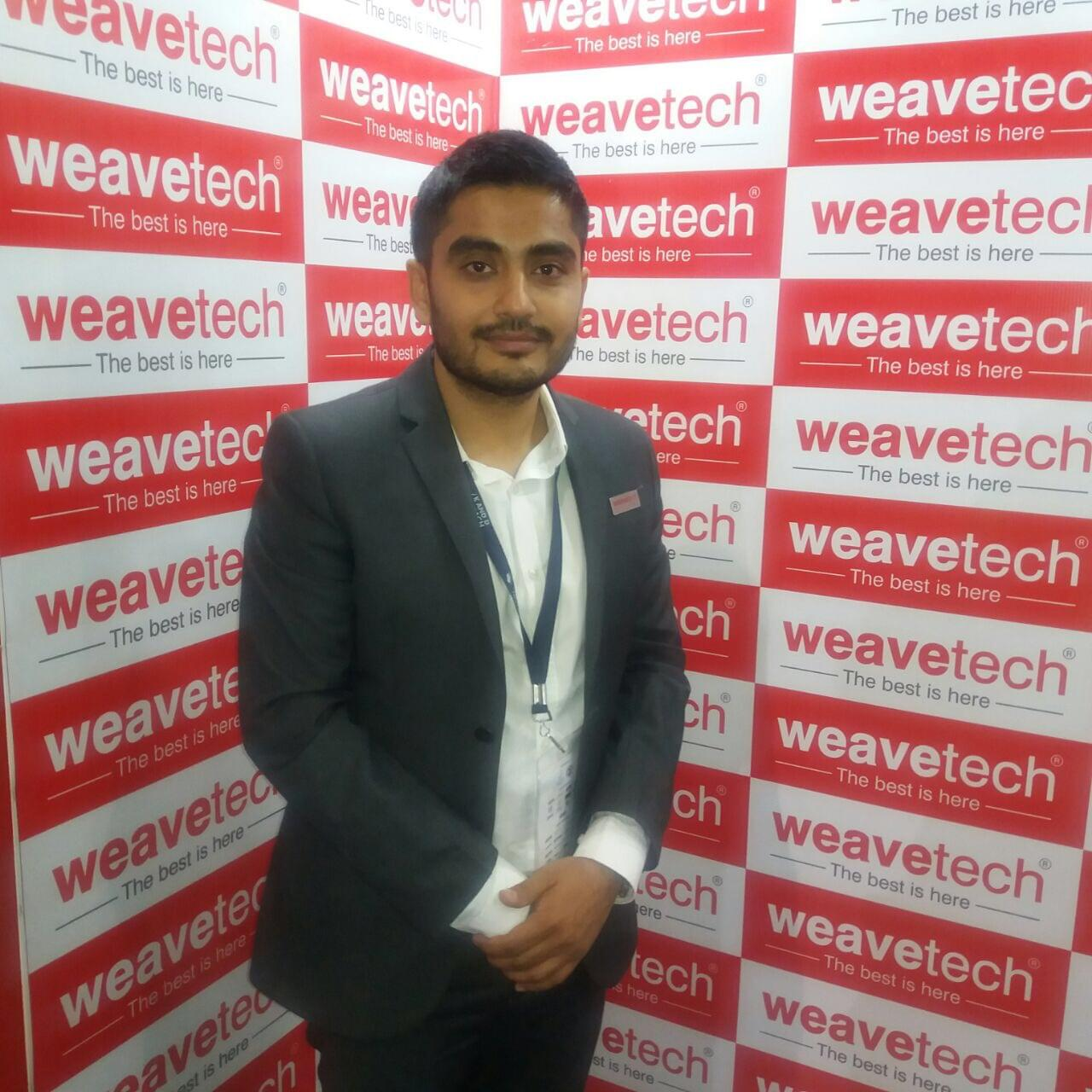 Alidhara Weavetech spend around 7% of our revenues in R&D