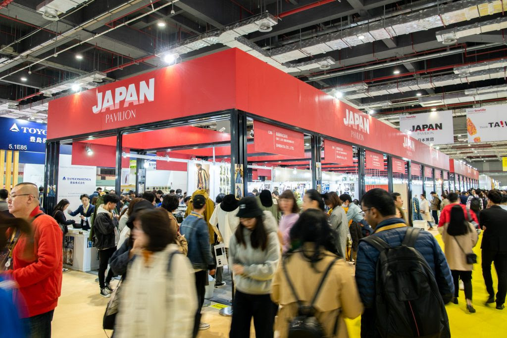 Exhibitors connect with hundreds of Chinese fashion brands at Intertextile Shanghai & Shenzhen's Japan Pavilions