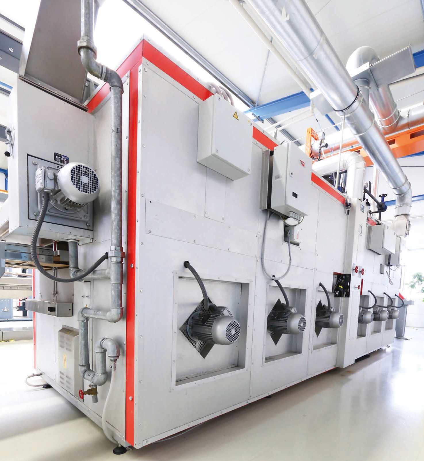 A.T.E. to provide high quality carpet heat setting machinery through tie up with Power-Heat-Set, Germany