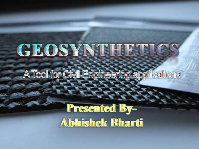 Geo-synthetics & Their Usage in India