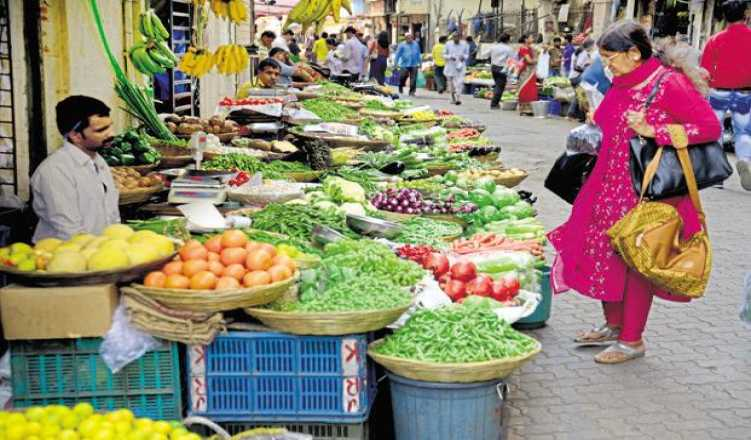 Retail inflation soars to 7.43% in Sept on costlier food items.