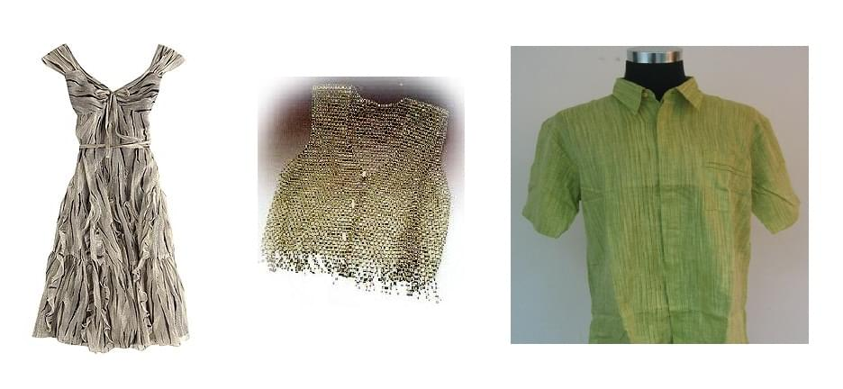 CLOTHING MADE OF BAMBOO FIBRES