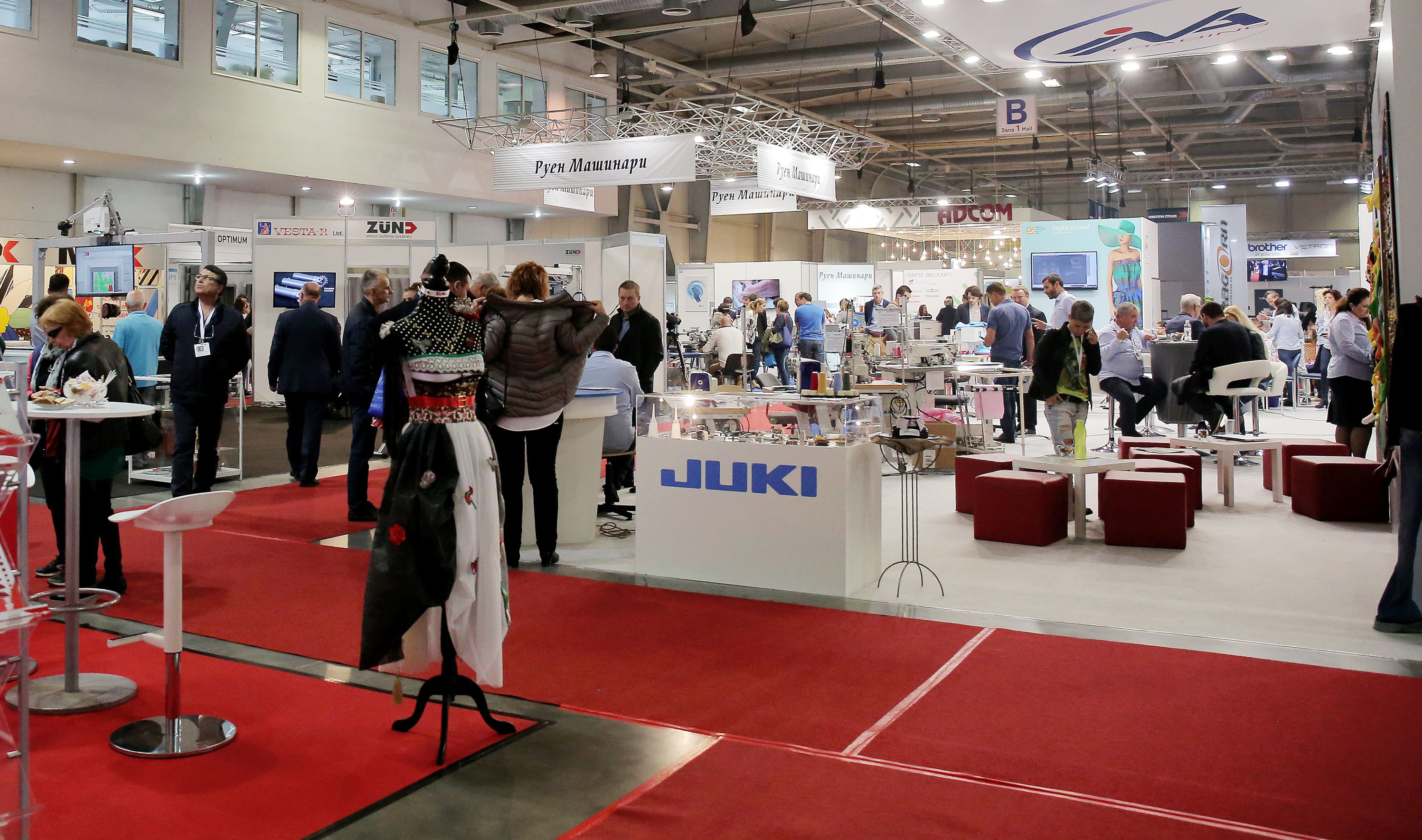 The professionals from the textile industry will meet at the exhibition TMT Expo from 25 to 27 September in Bulgaria