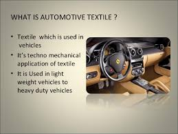 Automotive Textiles- Untapped Market in India