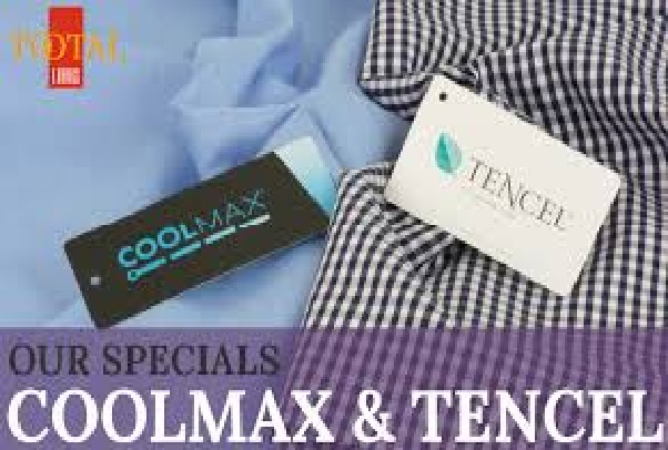 CLOTHING FROM COOLMAX  FIBRES