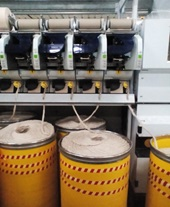 PROCESSING FLAX COTTON BLENDED YARN ON MODERN ROTOR SPINNING MACHINES