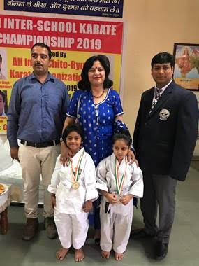 Ambience Public School, Gurgaon students shine in the news