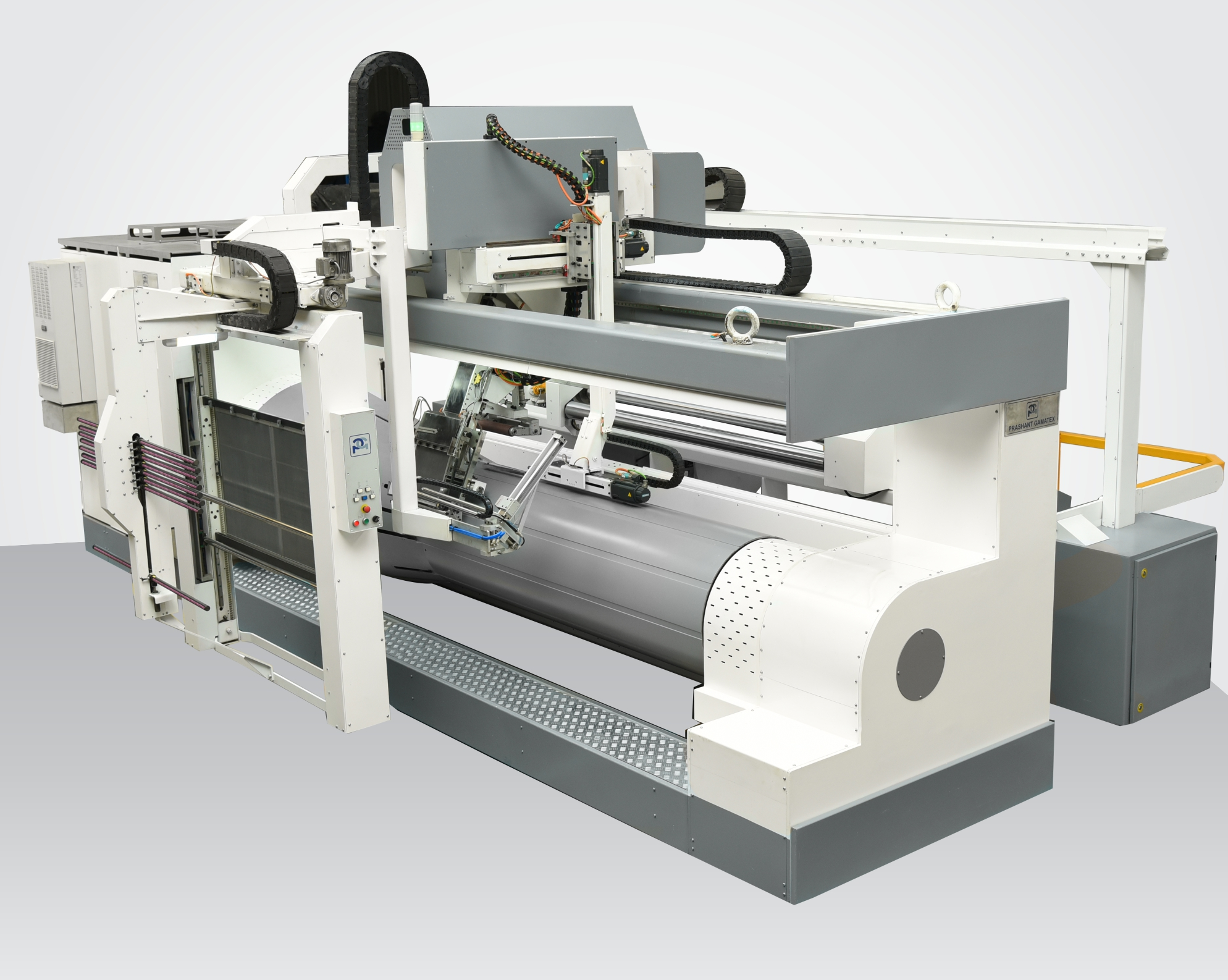 Prashant Group of exhibit top on the line Innovative Robotic Sectional Warping in ITMA