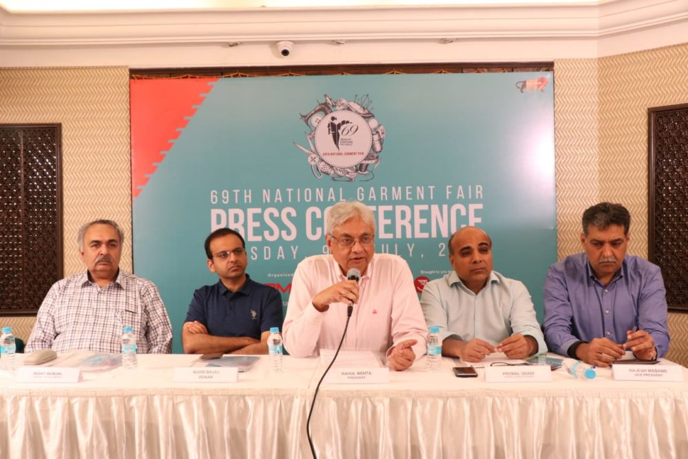 INDIA'S LARGEST APPAREL B2B TRADE SHOW TO BE HELD IN MUMBAI: CMAI'S 69th NATIONAL GARMENT FAIR FROM JULY 15th to 18th JULY 2019