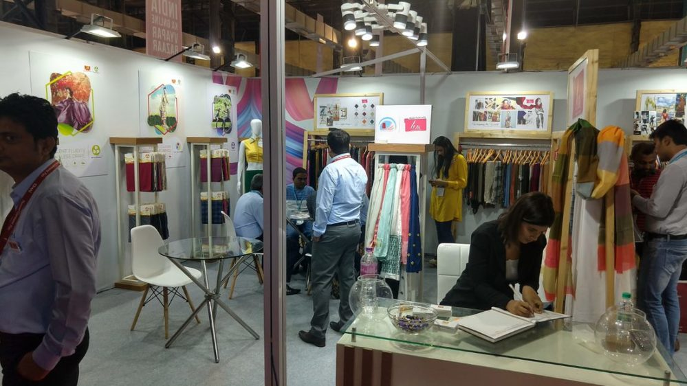 LIVA gets overwhelming response at the National Garment Fair by CMAI