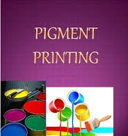 Pigment Printing on Nonwoven Fabric