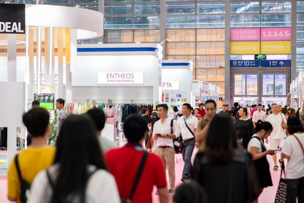 Exhibitor numbers up by 8% at Intertextile Pavilion Shenzhen 2019, as fair prepares to upgrade to larger venue