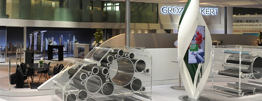 ITMA 2019 in Barcelona: Groz-Beckert welcomes over 6,500 visitors at its own booth