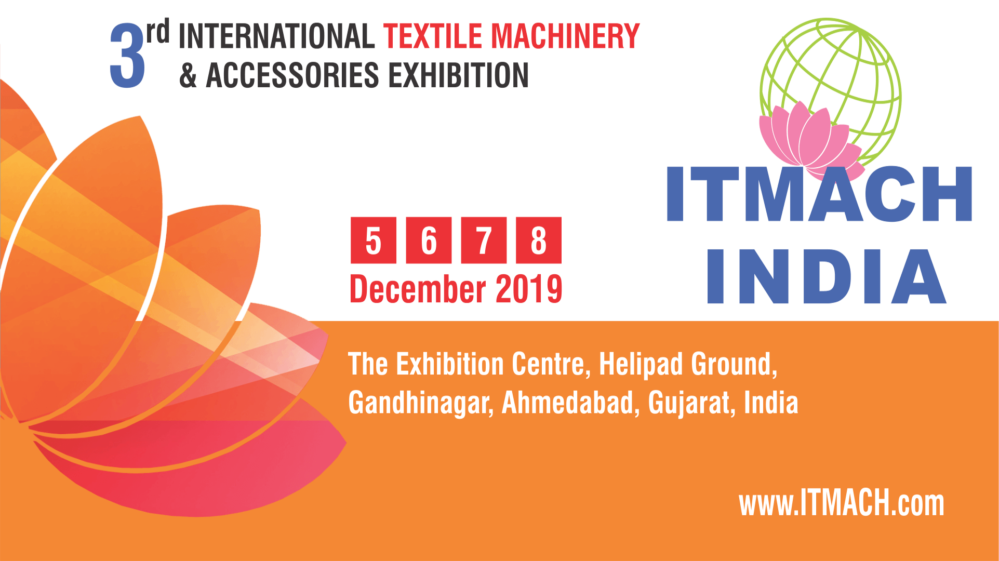 ITMACH will be largest textile machinery event in India