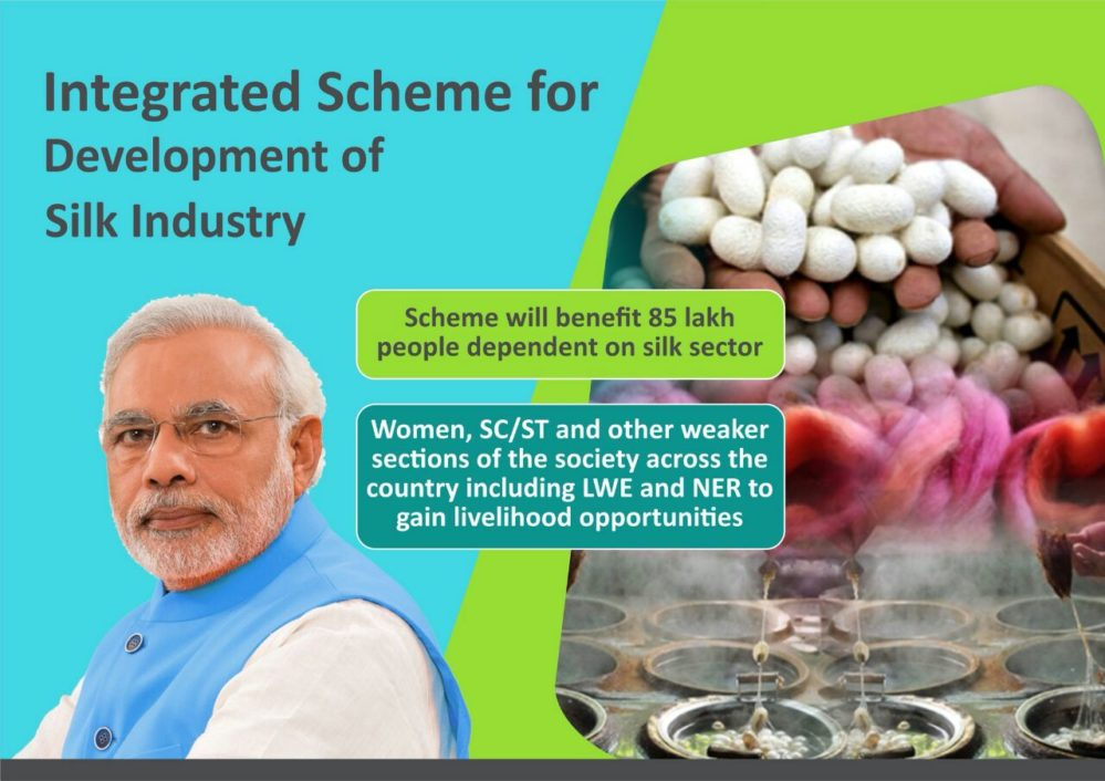 New Schemes for Silk Sector
