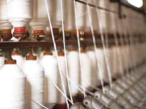 North and South India Spinning Mills reduced production appx. 50-60%