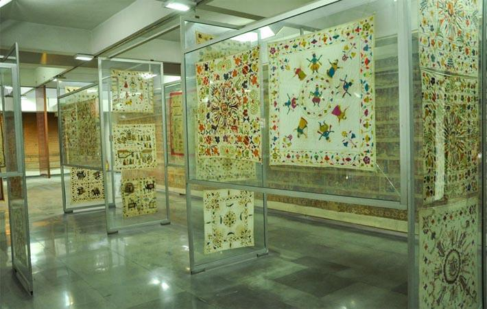 Textiles gallery opens at National Crafts Museum in Delhi.