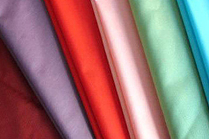 Production of polyester fabric falls almost by half.