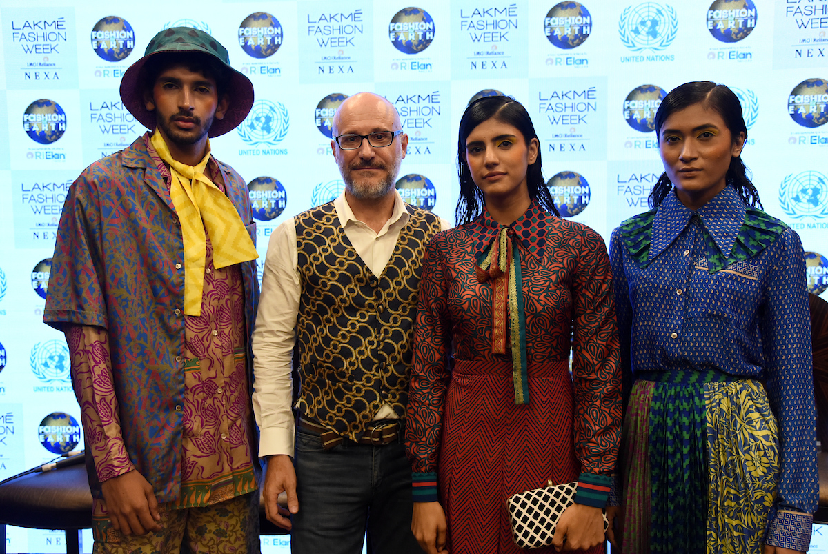 """Circular Design Challenge Winner """"I was a Sari"""" Wowed The Audience At The Studio  During Lakmé Fashion Week Winter/Festive 2019"""