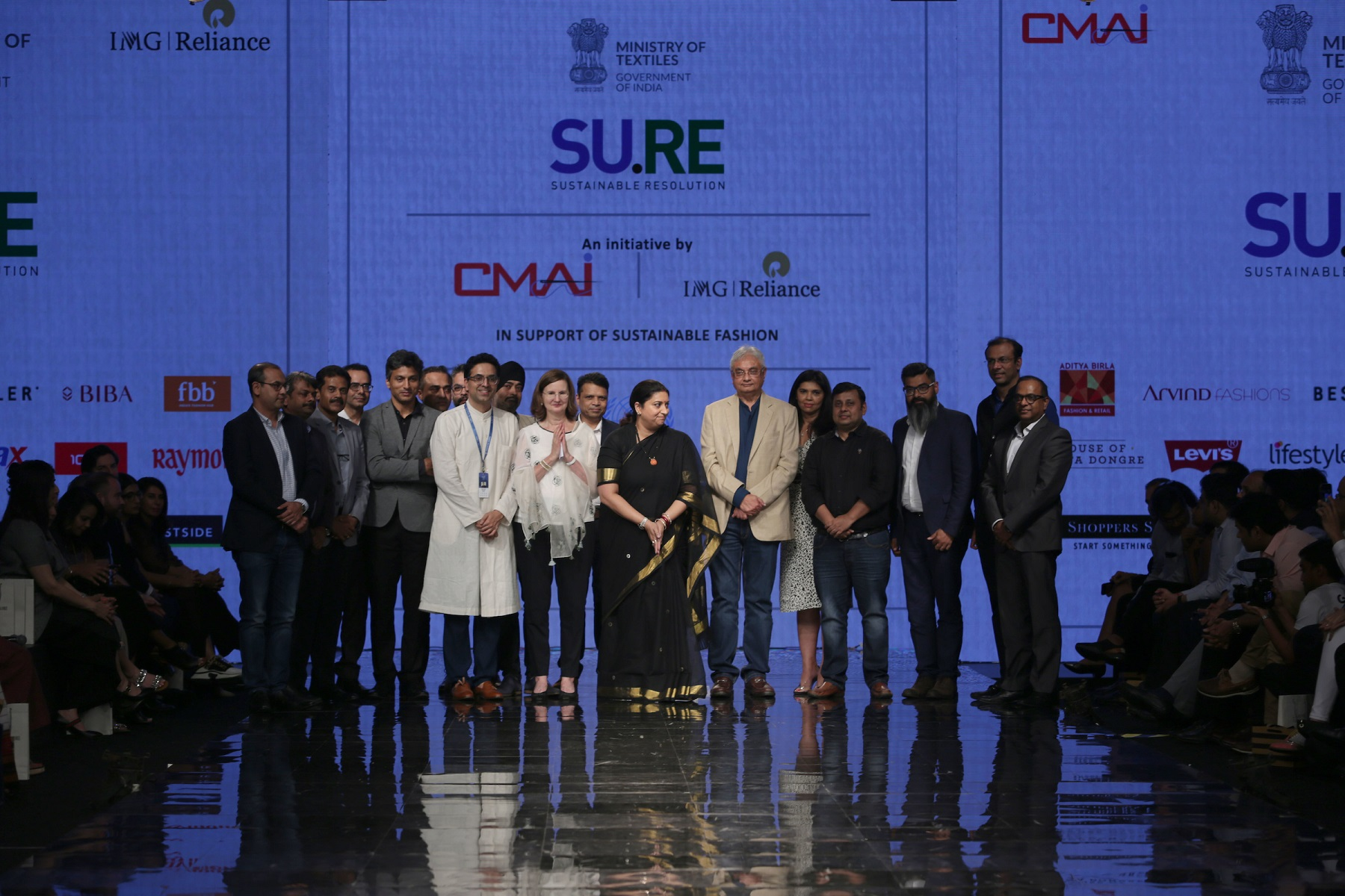 Union Textiles Minister launches Project SU.RE on Sustainable Fashion Day at Lakmé Fashion Week Winter/Festive 2019