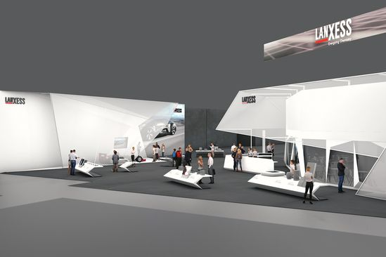 """LANXESS addresses the topics of new mobility, urbanization and digitalization at """"K 2019"""""""