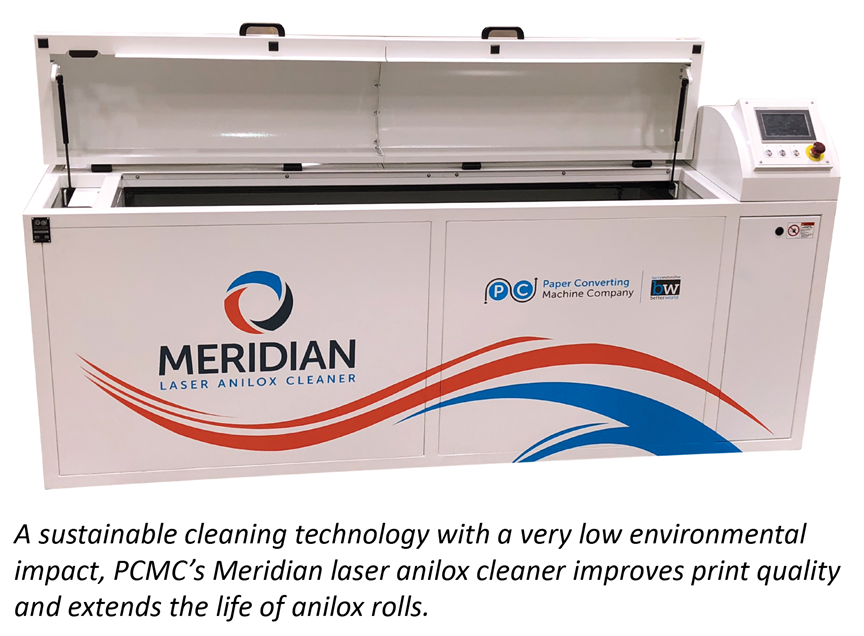 PCMC to bring its Meridian laser anilox cleaner to Labelexpo Europe