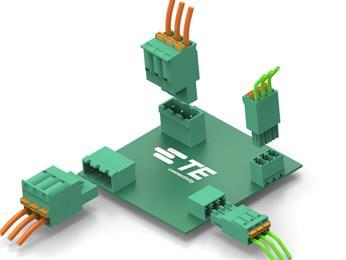 TE Connectivity expands BUCHANAN PCB Connector portfolio with push-in clamp termination style