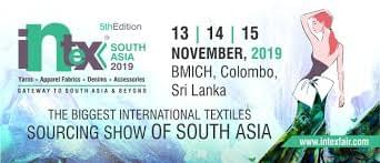 The stage is set for the 5th edition of Intex South Asia – The Biggest International Textile Sourcing Show of South Asia