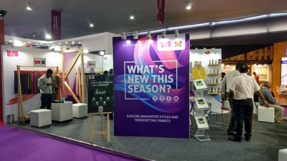 LIVA receives an overwhelming response at Yarns, Fabric & Accessories Trade Show