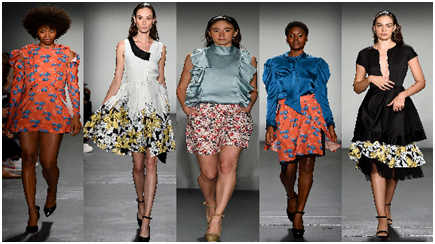 Colorjet Styling Sustainable Fashion Printing At NYFW 2019