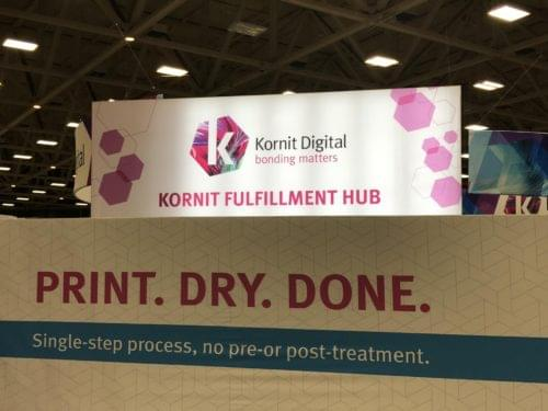 Kornit Digital Brings On-Demand Apparel, Sportswear, and Home Goods Solutions to PRINTING United 2019