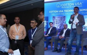 CCI hosts technical seminars at spinning mills in India.