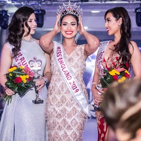 AFTERSHOCK LONDON IS THE OFFICIAL FASHION SPONSOR OF  MISS ENGLAND 2019