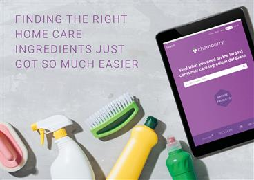 Specialty chemicals platform Chemberry™ launches into Home Care, building on Personal Care success