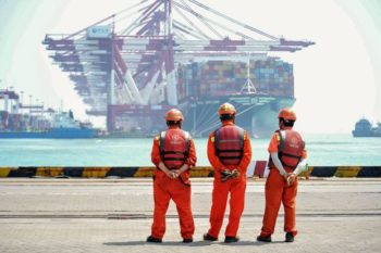 China's export decline eased in October