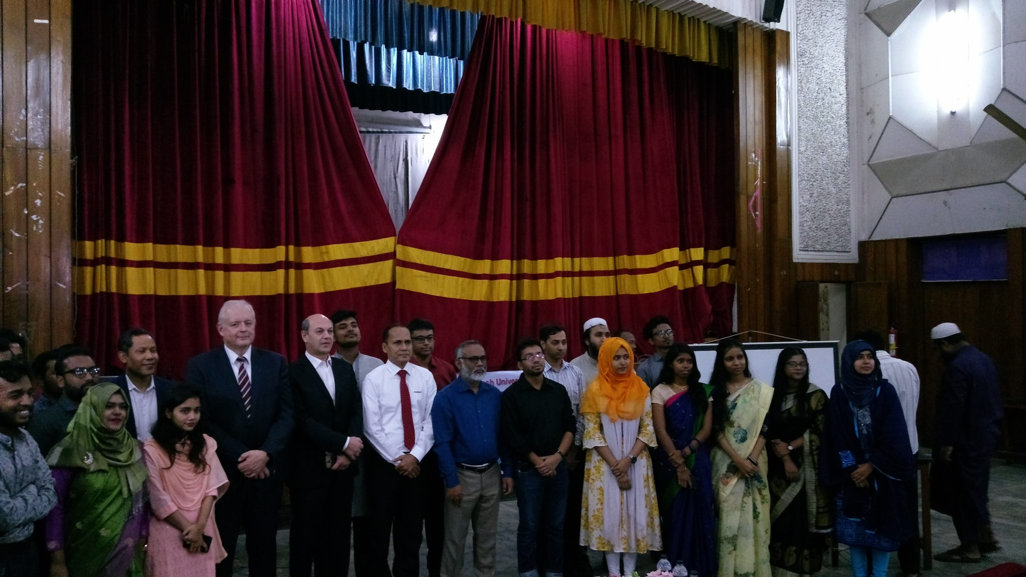 Mahlo cooperates with universities in Bangladesh  Lecture for textile experts of the future