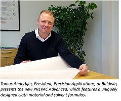 Baldwin's new PREPAC® Advanced technologies decrease waste up to 50 percent, cut cleaning cycles in half