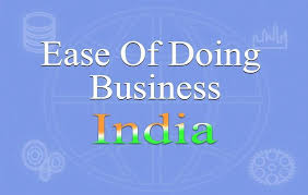 India plans to enter top 50 in ease of business WB rankings.