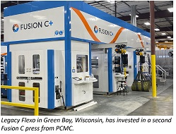 Legacy Flexo invests in second Fusion C press from PCMC