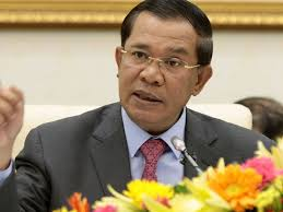 Cambodian PM urges PRC to export raw materials by air, sea.