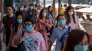 Demand for sanitizers,masks at a fever pitch.