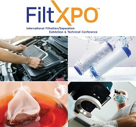 Industry Leaders to Move Toward a Future with Cleaner Air and Water at FiltXPO™ International Filtration/Separation Exhibition & Technical Conference