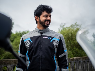 Biking enthusiast & the most followed in the auto space, Faisal Khan from MotorBeam launches his own line of biking gear called FK-R