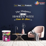 Kamdhenu Paints Welcomes New Year 2020 with the Launch of  Eco-friendly Range of Interior and Exterior Emulsions