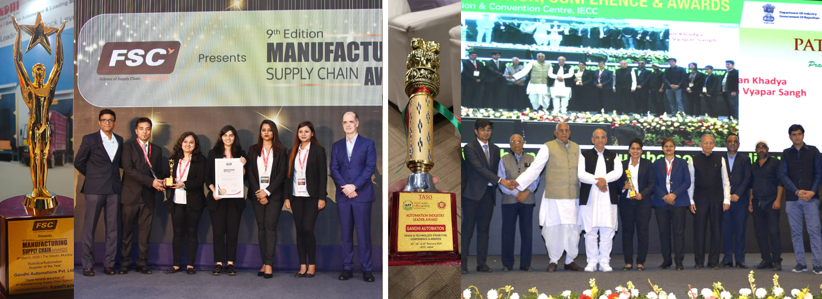 Automation Industry Leader 2020 and Automation Supplier of the Year 2020