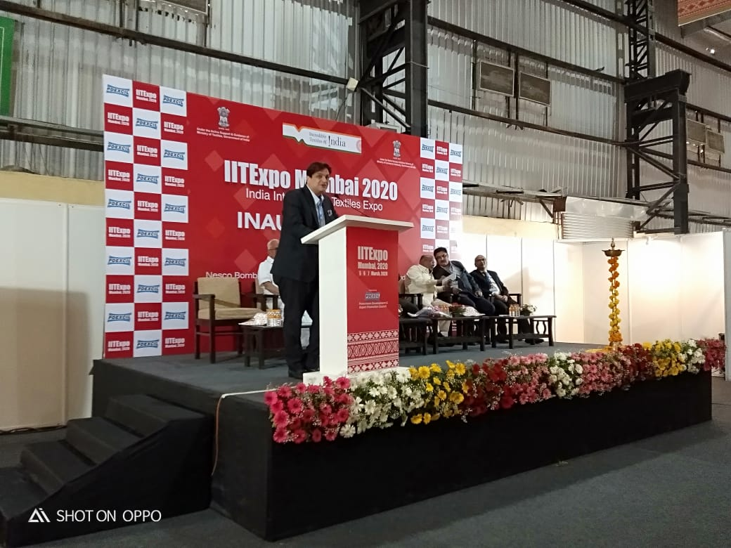 IITExpo Mumbai 2020 organised by the Powerloom Development & Export Promotion Council (PDEXCIL)