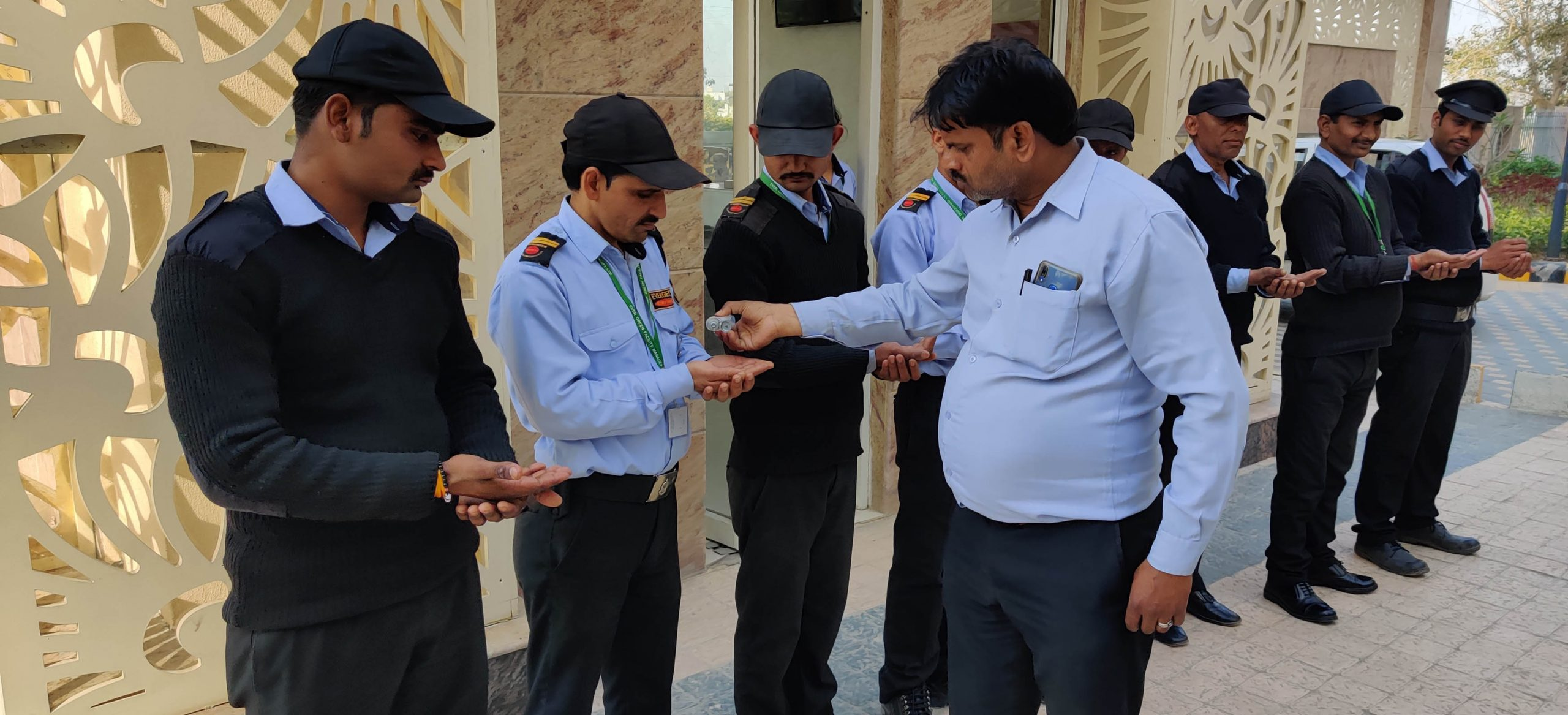 SpideyManage, takes the responsibility to sensitize the security guards in residential apartments.