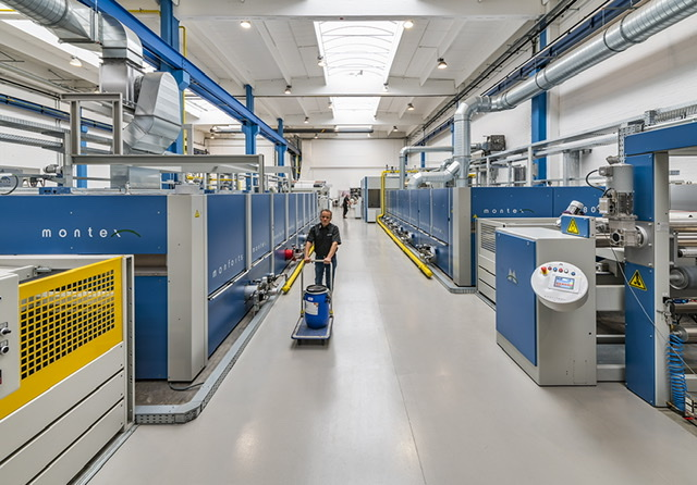 Industrial-scale testing for new PPE finishes