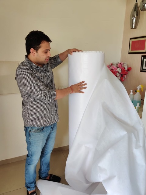 NUFAB launches Nonwoven fabric for front-line warriors
