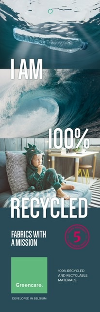Tessutica produces furniture upholstery from recycled marine waste with Greencare